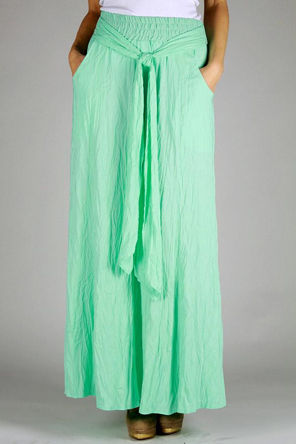 Длинная летняя юбка EF366N