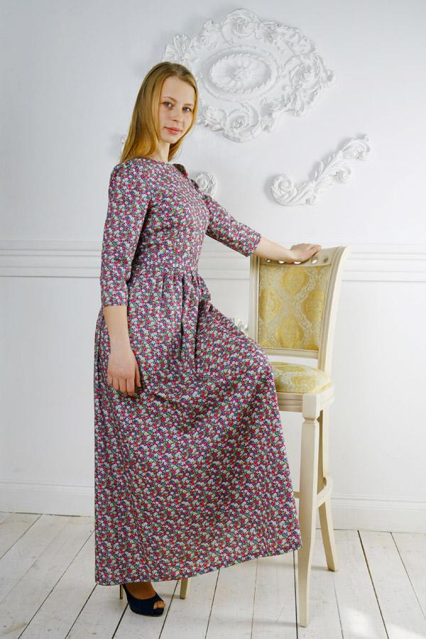 Длинное летнее платье «Поллианна»