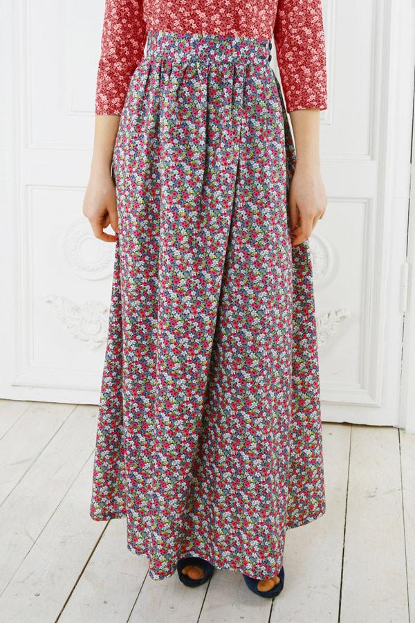 Длинная юбка «Полли»