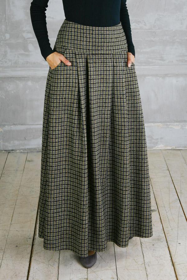 Широкая юбка макси «Амазонка»