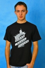 Мужская футболка «Помни славу России»