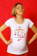 Футболка для беременных «Буду мамой!»