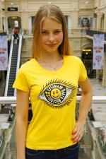 Женская футболка «Трезвым быть веселее»