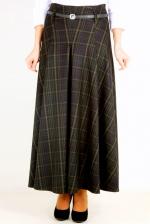 Черная юбка макси EF288ELA