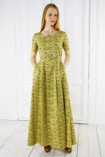 Домашнее платье «Капли солнца»