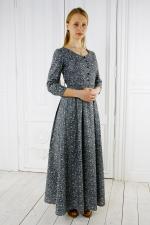Домашнее платье из хлопка «Серебряный век»
