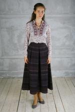 Длинная шерстяная юбка миди «Дульсинея Тобосская»