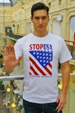 Футболка мужская «Stop USA»